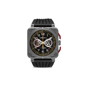 Bell & Ross BR 03-94 R.S.18 チタン 42mm - Grey, Black, Red And Yellow