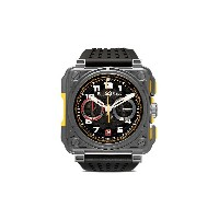 Bell & Ross BR-X1 R.S.18 チタン 45mm - GREY, BLACK, RED AND YELLOW