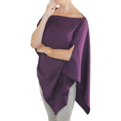 Bizzy Babee Nursing Cover (Plum) by bizzy babee