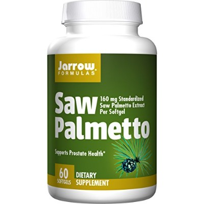 Jarrow Formulas Saw Palmetto, 60 Softgels (Pack of 2) 海外直送品