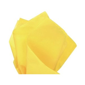 Bulk Dandelion Canary Yellow Tissue Paper 20 x 30 - 48 XL Sheets by Premium Quality Gift