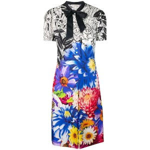 Mary Katrantzou printed midi dress - ブルー