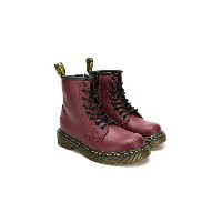 Dr. Martens Kids レースアップブーツ - レッド
