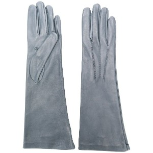 Gala Gloves long gloves - グレー