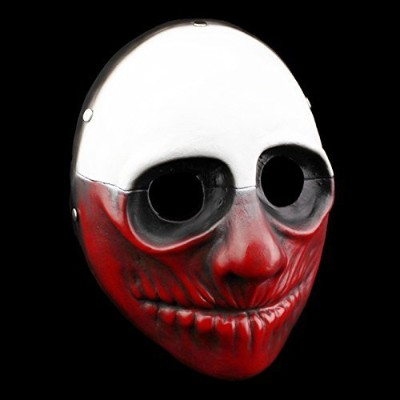 Smays Game Payday 2 Cosplay Polyresin Mask Gift for Halloween Party, Masquerade, Stage Performance,...