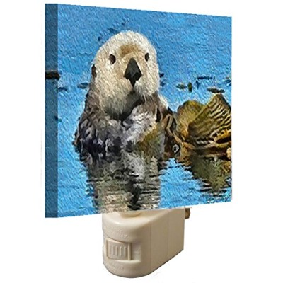 Sea Otter–ollie- Night Light by DoggyLips