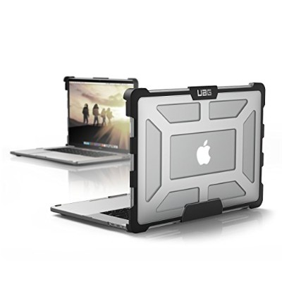 UAG Macbook Pro 15インチwith Touchバー(4th Gen) feather-light Rugged [ Ice ] Militaryドロップテストノートパソコンケース