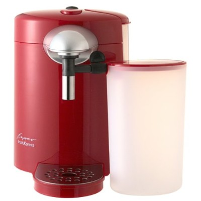 Capresso 201.06frothxpress Automatic Milk Frother レッド