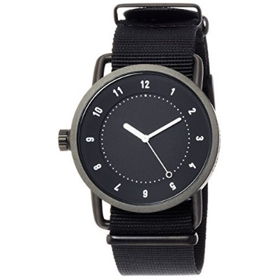 [ Incorporatedウォッチ] tid Watches Designer Watch特別なノベルティトートバッグバッグComes with an延長保証with tid01-bk / NBK...