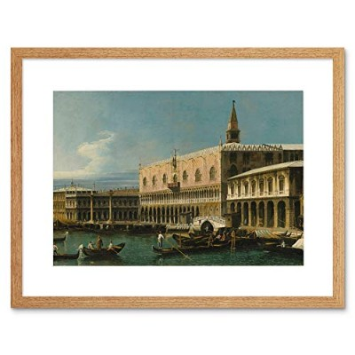 Bernardo Bellotto View Old Master Art Picture Framed Wall Art Print ビューオールドマスター画像壁