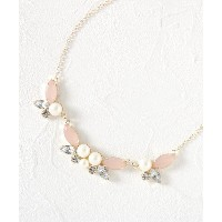 【passage mignon(パサージュ ミニョン)】 ブリリアントネックレス OUTLET > アクセサリー > ネックレス ピンク