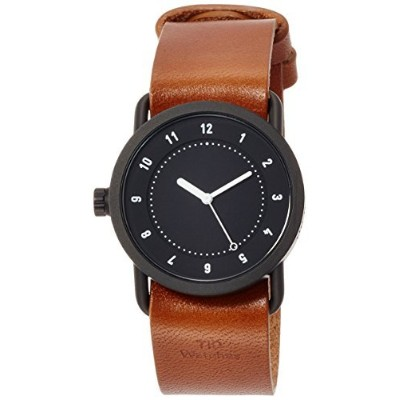 [ Incorporatedウォッチ] tid Watches Designer Watch特別なノベルティトートバッグバッグComes with an延長保証with tid01–36bk /...