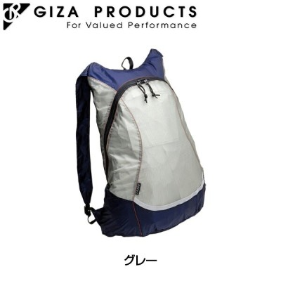 GIZA (ギザ) [BAG27501] Minify Compact Backpack (ミニフィコンパクト バックパック) グレー[身につける・持ち歩く][バックパック][自転車バッグ]