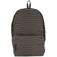 Cabas contrast panel backpack - グレー