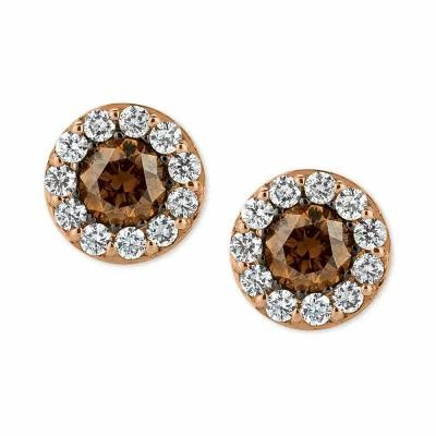 ル ヴァン Le Vian イヤリング・ピアス Chocolatier Diamond Stud Earrings (3/4 ct. t.w.) in 14k Rose Gold Rose Gold