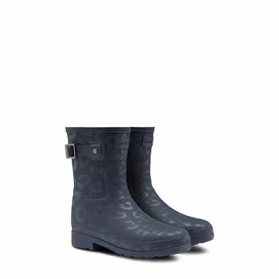 ハンター HUNTER レインシューズ・長靴 Original Insulated Refined Short Rain Boot Navy