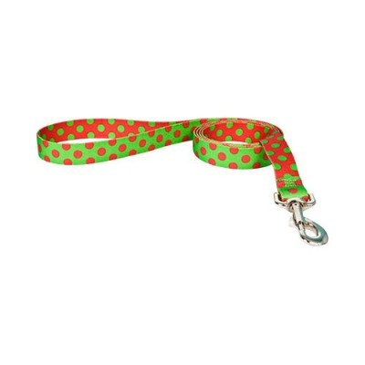 Yellow Dog Design CP104LD 3/8 in. x 60 in. Christmas Polka Dot Lead