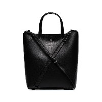 Proenza Schouler black Hex leather tote bag - ブラック
