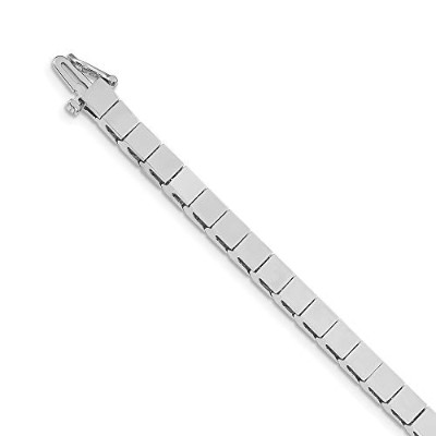 Beautiful White gold 14K 14k White Gold Holds up to 33 4mm Stones Add-A-Diamond Tennis Bracelet...