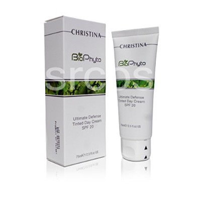 Christina BioPhyto Ultimate Defense Tinted Day Cream SPF20 Sunscreen 75 ml / 2.5 fl.oz