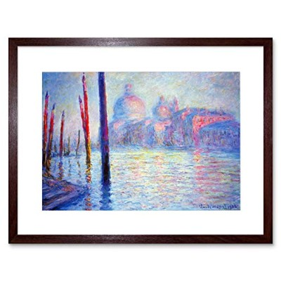 Claude Monet Canal Grand Old Master Picture Framed Wall Art Print クロードモネ運河グランドオールドマスター画像壁