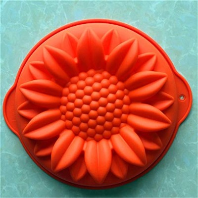VolksRose Silicone Mould for Chocolate, Jelly and Candy etc - Random colours - Sunflower