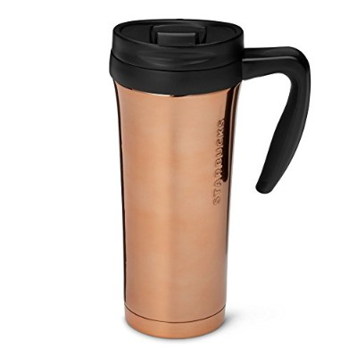 Starbucks Stainless Steel Tumbler withハンドル – Copper , 16 fl oz