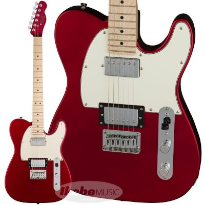 Squier by Fender《スクワイヤー》 Contemporary Telecaster HH (Dark Metallic Red/Maple Fingerboard) 【お取り寄せ品】...