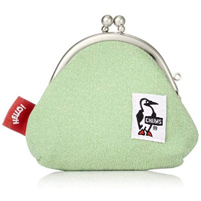 [チャムス]CHUMS Frog Coin Purse Sweat H/Lime