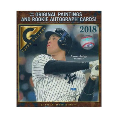 MLB 2018 TOPPS GALLERY BASEBALL BOX(送料無料)