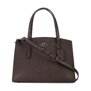 Coach Charlie Carryall 28 バッグ - パープル