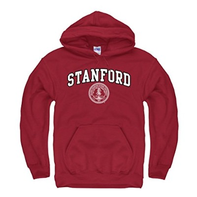 (Large, Cardinal Red) - Stanford Cardinal Arch & Seal Hoodie