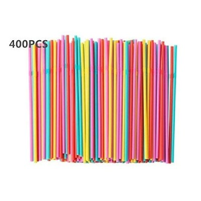 SODA Drinking straw,Disposable flexible straws, Assorted Colors , Pieces (2) by Ikea