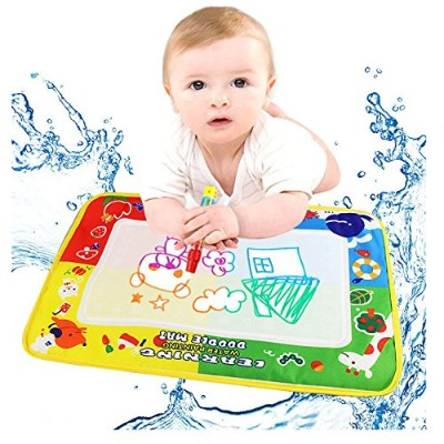 Residen Toys for Kids–4色Doodle水図面マットボードマジックペン–Baby Painting Great図面おもちゃギフト新しい 46X30cm SXHB