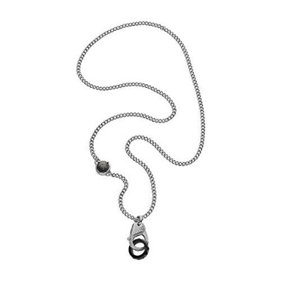 [男性用ネックレス]Diesel Men Stainless Steel Pendant Necklace - DX1150040[平行輸入品]