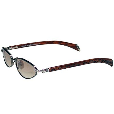 CHROME HEARTS VELVEDERE MAHOGANY WOOD CROSS クロムハーツ サングラス