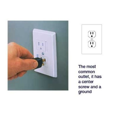 Self Closing Outlet Covers (Ivory) by Safety Innovations
