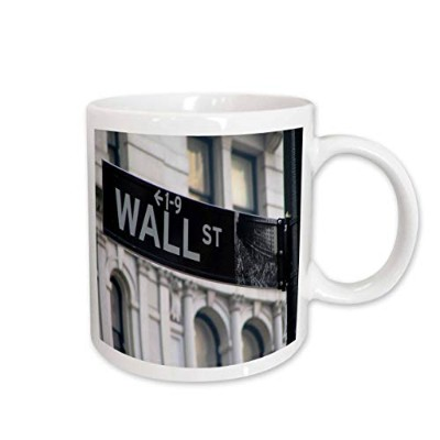 3dRose Wall Street Mug, 330ml