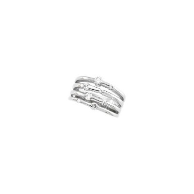 Beautiful White gold 14K White-gold Diamond Right Hand Ring comes with a Free Jewelry Gift