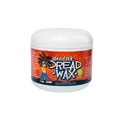 Knotty Boy Dreadlock Wax 4oz. Brown/Black Hair