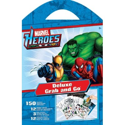 Grab & Go Deluxe Stickers - Marvel - Heroes New Decals Toys Games st2703