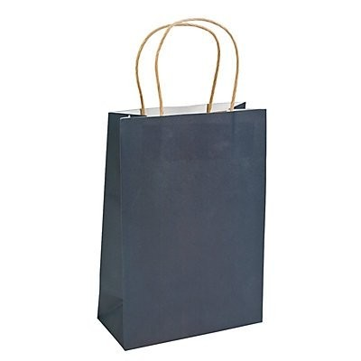 Medium Navy Craft Paper Bags by adventure's bag