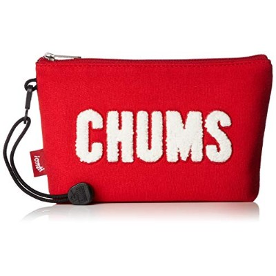 [チャムス]CHUMS Little Pouch Sweat Scarlet