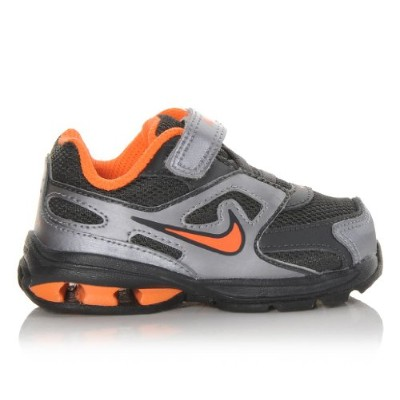 Nike Kids Reax Run Dominate (TD)オレンジシルバーブラックToddler Boys