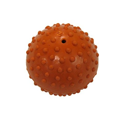 Boss Pet Products 03663 Dimple Ball Dog Toy With Bell