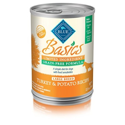 Blue Buffalo Basics Limited Ingredient Large Breed Turkey Dinner 12.5 oz, by BLUE Basics