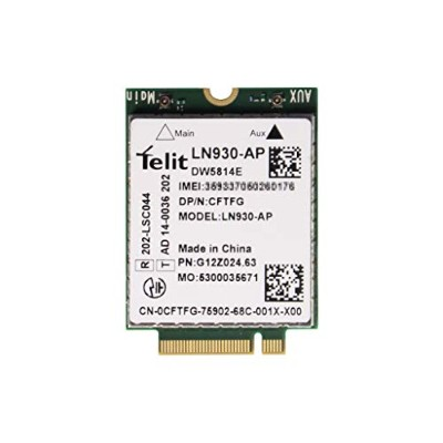 Dell Wireless 5814e LTE Mobile Broadband Card module DW5814E Telit LN930-AP 4G/LTE GPS WWAN...