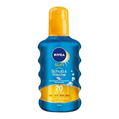 Nivea Sun Protect & Refresh Sun Spray LSF 20 200 ml