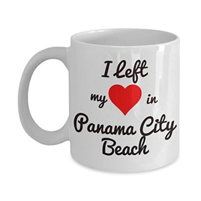 Panama Cityビーチマグ – Panama Cityビーチお土産 – I left my heart in Panama City Beach – Panama City Beach...