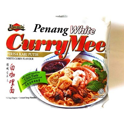 Penang White Curry noodle ペナン ホワイトカレー ヌードル (4 Packs) 4個セット [並行輸入品]